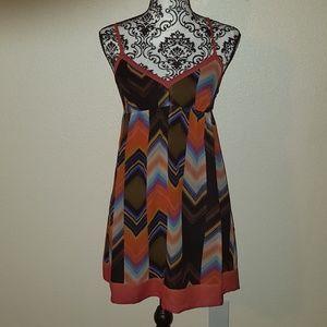 Silk GUESS Multicolor Dress Size 3